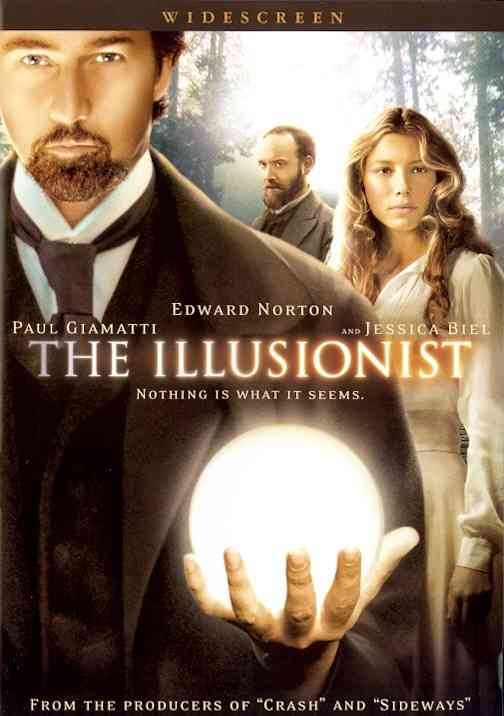 ILLUSIONIST BY NORTON,EDWARD (DVD)